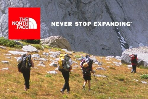 The North Face Werbeplakat